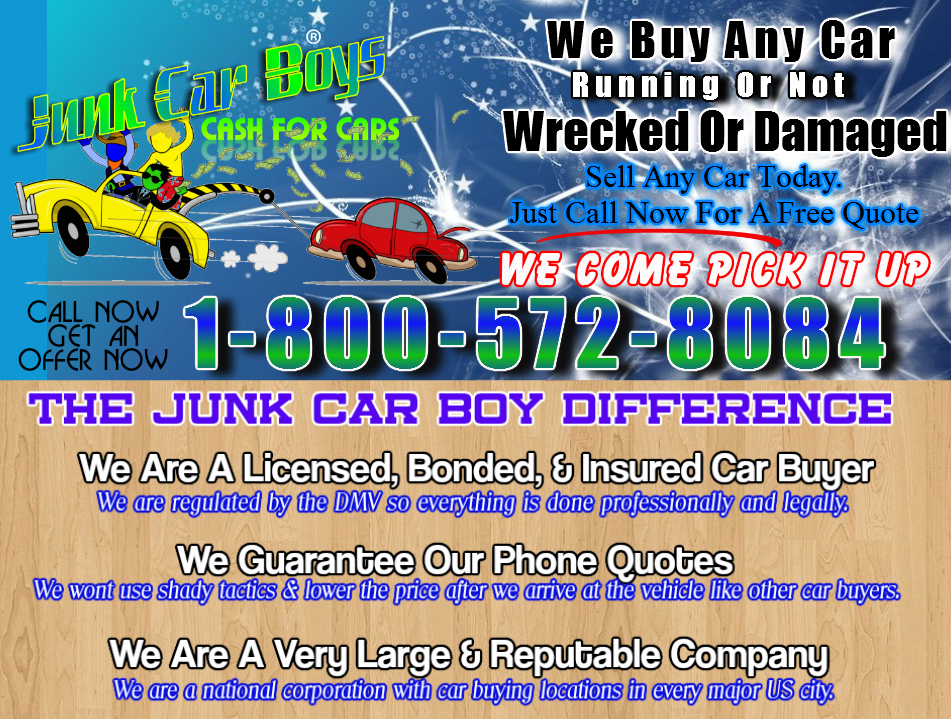 Cash For Cars Rochester NY
